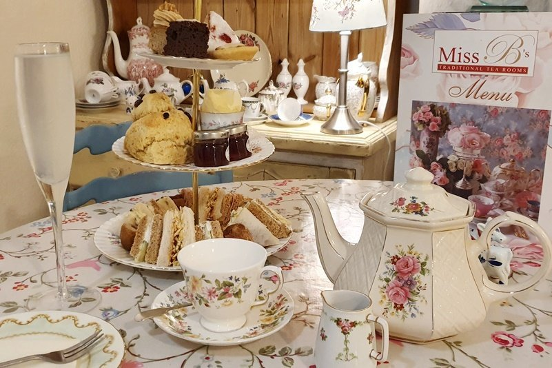 Afternoon Tea at Miss B's Tearooms
